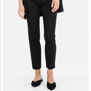 EXPRESS Women's Low Rise Ankle Pant Black 12 NEW